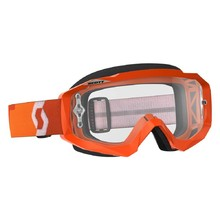 SCOTT Hustle MXVII Clear Crossbrille - Orange