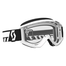 SCOTT Recoil Xi MXVII Clear Crossbrille - Weiss
