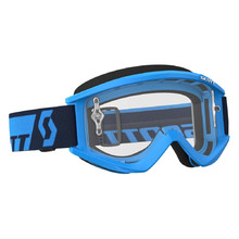 SCOTT Recoil Xi MXVII Clear Crossbrille - Blau