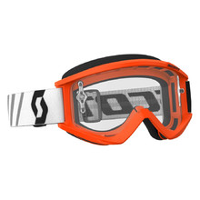 SCOTT Recoil Xi MXVII Clear Crossbrille - Orange-Black