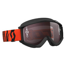 SCOTT Recoil Xi MXVII Crossbrille - black-fluo orange-silver chrome