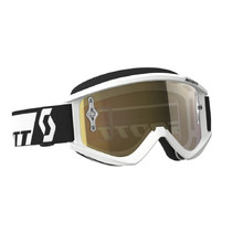 SCOTT Recoil Xi MXVII Crossbrille - white-gold chrome