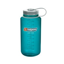 NALGENE Wide Mouth 1 l Outdoor-Trinkflasche - Trout Green 32 WM