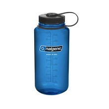 NALGENE Wide Mouth 1 l Outdoor-Trinkflasche - Blue 32 WM