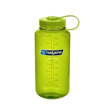 NALGENE Wide Mouth 1 l Outdoor-Trinkflasche - Spring Green 32 WM