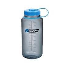 NALGENE Wide Mouth 1 l Outdoor-Trinkflasche - Gray 32 WM