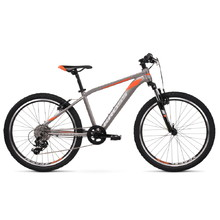 "Kross Level JR 2.0 24"" Junioren Fahrrad - Modell 2020 - graphit/orange"