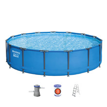 Bestway Steel Pro Max 427 x 107 cm Pool mit Filter