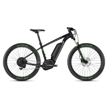 "Ghost Teru B4.7+ 27,5"" E-Mountainbike - Modell 2020 - Jet Black / Urban Gray / Riot Green"