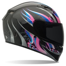 Motorradhelm BELL Qualifier Coalition Black/Pink