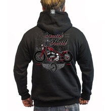 BLACK HEART Red Baron Chopper Sweatshirt - schwarz