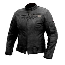 SPARK Betty Damen Motorrad Lederjacke