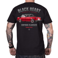 BLACK HEART MB T-Shirt - schwarz