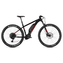 "Ghost Kato X S8.7+ 29"" - Elektrisches Mountainbike Modell 2019 - Night Black / Riot Red / Iridium Silver"