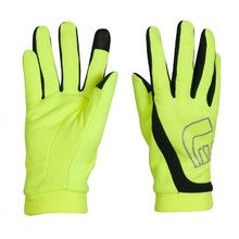 Newline Thermal Gloves Visio Laufhandschuhe - neon