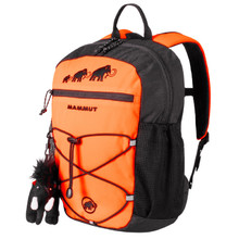 MAMMUT First Zip 8 Kinderrucksack - Safety Orange-Black