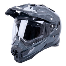 Motocross Helm W-TEC AP-885 Carbon-Look