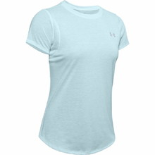 Under Armour Streaker 2.0 Short Sleeve Damen Lauf T-Shirt - Rift Blue