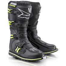 AXO Drone Limited Edition Motocross-Stiefel - schwarz-fluo gelb