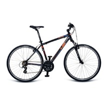 4EVER Control 28'' Herren Crossbike - Modell 2017 - schwarz-orange