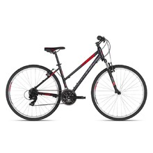 KELLYS CLEA 10 28'' - Damen-Cross-Fahrrad - Modell 2018 - Black Red