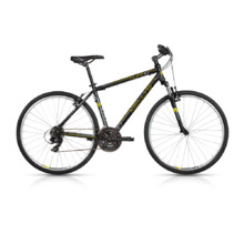 KELLYS CLIFF 10 28'' - Herren-Cross-Fahrrad - Modell 2017 - Black-Yellow