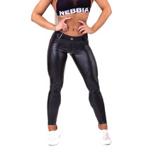 "Nebbia Bubble Butt ""Cat Woman"" 669 Damen Leggings - schwarz"