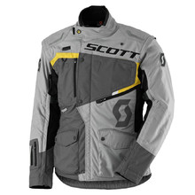 SCOTT Dualraid DP Motorradjacke - Grey-Yellow