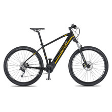 "4EVER Ennyx 3 29"" E-Mountainbike - Modell 2020 - schwarz/golden"