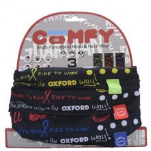 Universal Halswärmer Oxford Comfy 3-Pack - Grafitti Multi