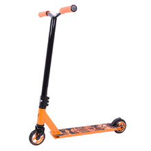 Der Tretroller Fox Raw-02 - orange