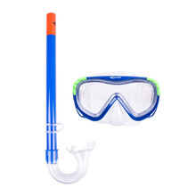 Escubia Turtle Kid Set Taucherset - blau
