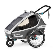 Qeridoo KidGoo 2 Multifunktionaler Kinderwagen 2020 - Anthracite Grey