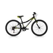 "KELLYS KITER 30 24"" Junior Bike - Modell 2017 - schwarz"
