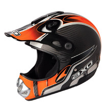 AXO MM Carbon Evo Motocross Helm - orange