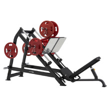 Steelflex Plateload Line PLDP Leg Press - schwarz-rot