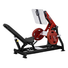 Steelflex Plateload line PLLP Leg press - schwarz-rot