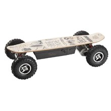 Skatey 800 Off-road Wood Art Elektro-Longboard