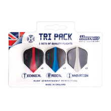 Harrows Retina Flight Tri Pack Flights Satz