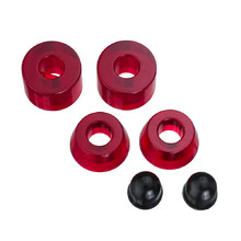Bushings 85A - Transparentes Rot