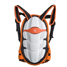 Spartan Junior Rückenprotektor orange-weiß