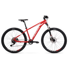 "Kross Level JR TE 24"" Junioren Fahrrad - Modell 2020 - rot-weiß"