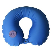 AceCamp Air Pillow U Blue Luftkissen