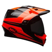 BELL MX-9 Adventure MIPS Crosshelm - Stryker Flo Orange-Black