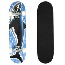 Skateboard Ground Control - Blue Shark