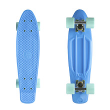 "Fish Classic 22"" Penny Board - Blue-Silver-Summer Green"
