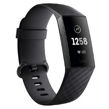 Fitbit Charge 3 Graphite/Black Fitness-Armband