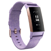 Fitbit Charge 3 Lavender Woven Fitness-Armband