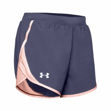 Under Armour W Fly By 2.0 Short Damen Laufshorts - Blue Ink