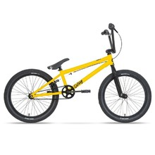 "Galaxy Early Bird 20"" BMX Fahrrad - Modell 2020 - gelb"